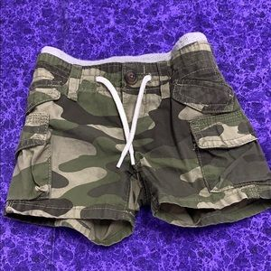 Baby Gap Camouflage Shorts